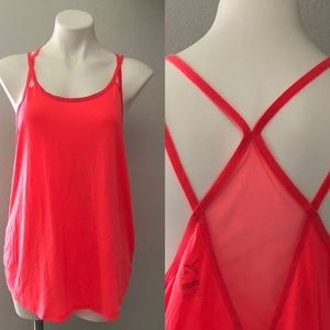 Old Navy Dri- Fit Coral Racerback Athletic Tank